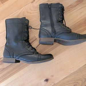Leather new booties